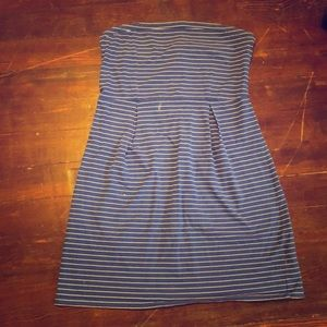 OLD NAVY striped strapless dress 👗